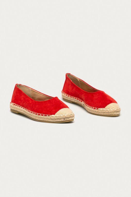 Answear Lab - Espadrilky Guapissima červená