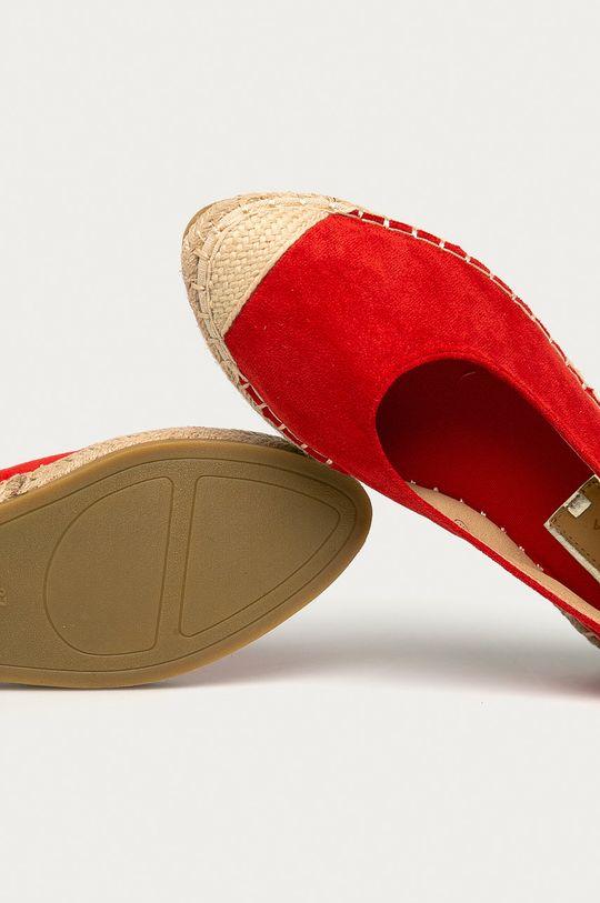 červená Answear Lab - Espadrilky Guapissima