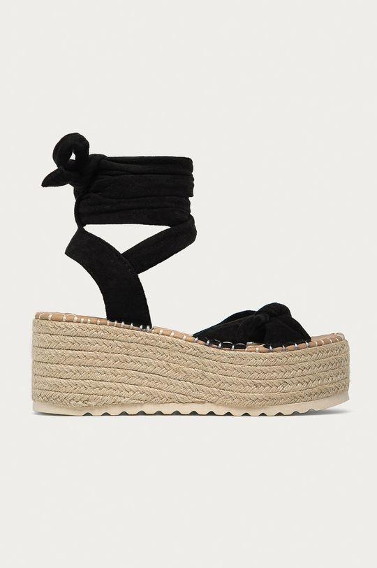 čierna Answear Lab - Sandále Buonarotti Dámsky