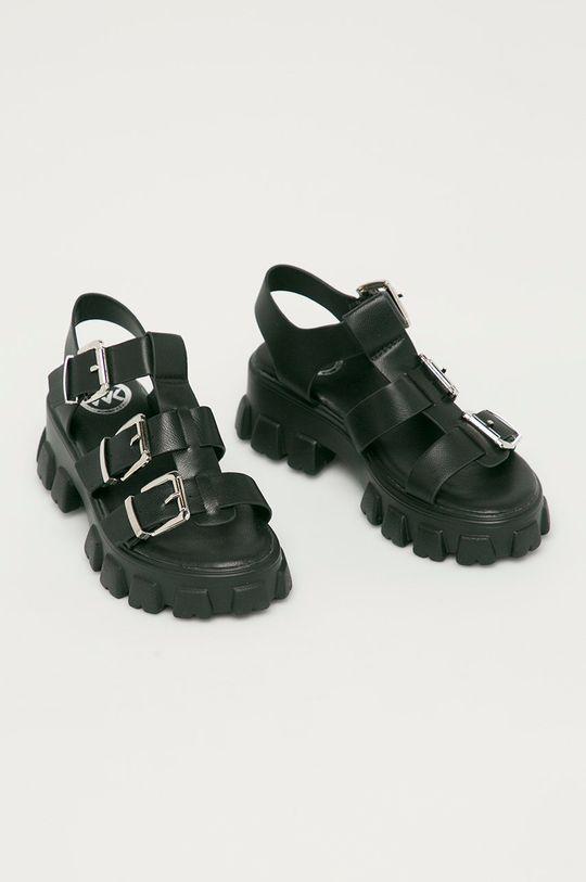 Answear Lab - Sandały WK czarny