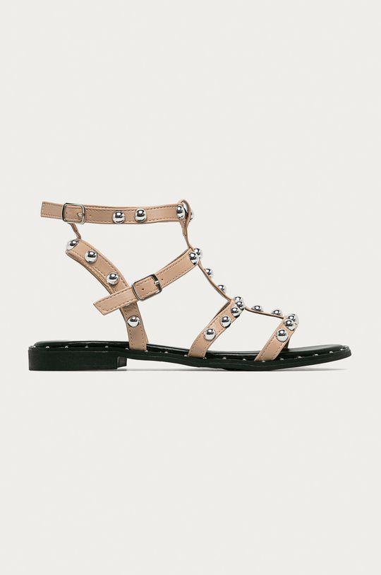 béžová Answear Lab - Sandály Bella Woman Dámský