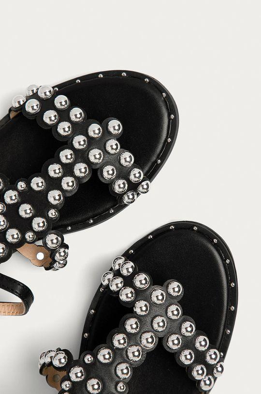 černá Answear Lab - Sandály Bella Woman