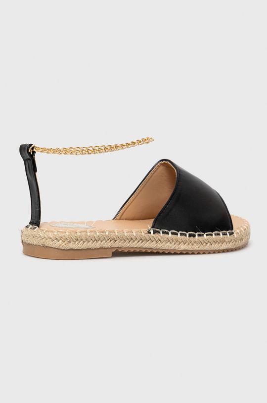 czarny Answear Lab - Sandały Woman Key