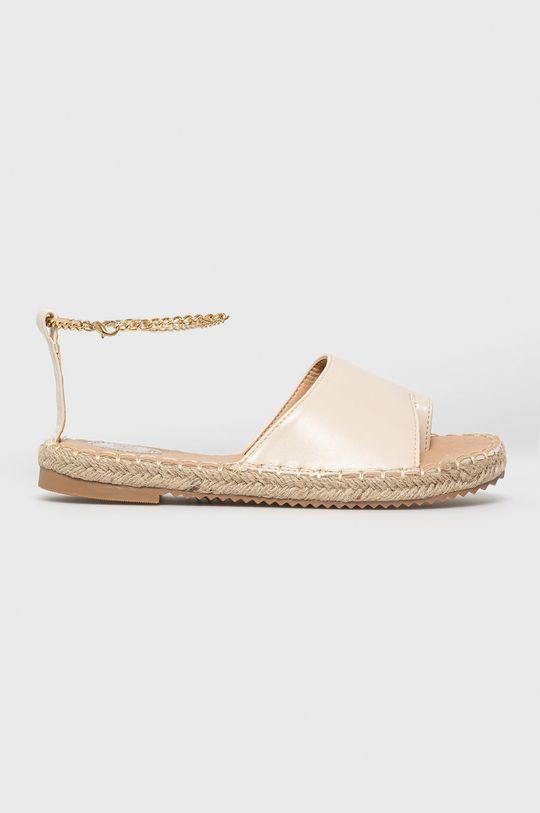 béžová Answear Lab - Sandále Woman Key Dámsky