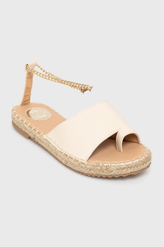 Answear Lab - Sandále Woman Key béžová