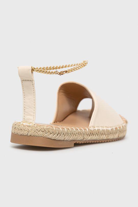 béžová Answear Lab - Sandále Woman Key
