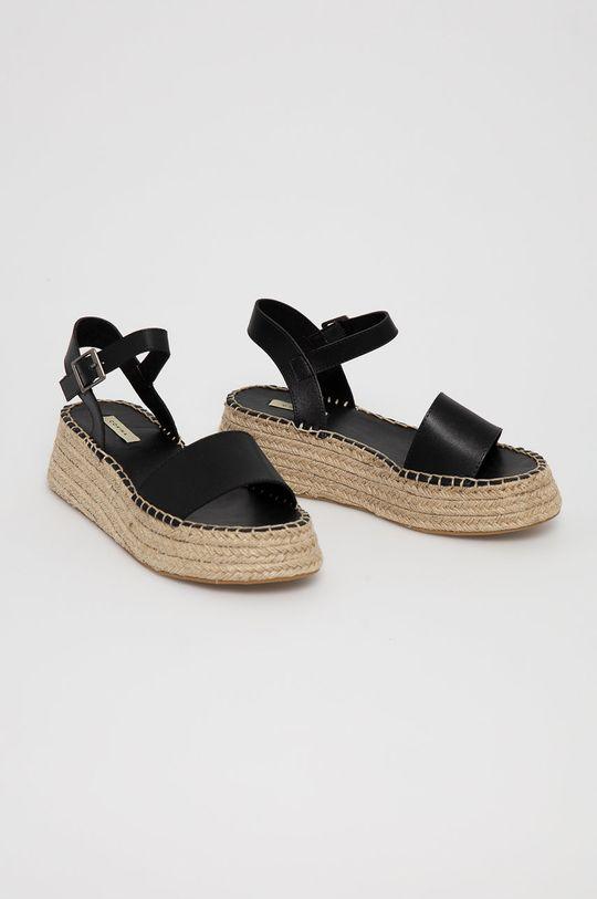 Answear Lab - Sandále čierna