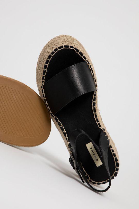 čierna Answear Lab - Sandále