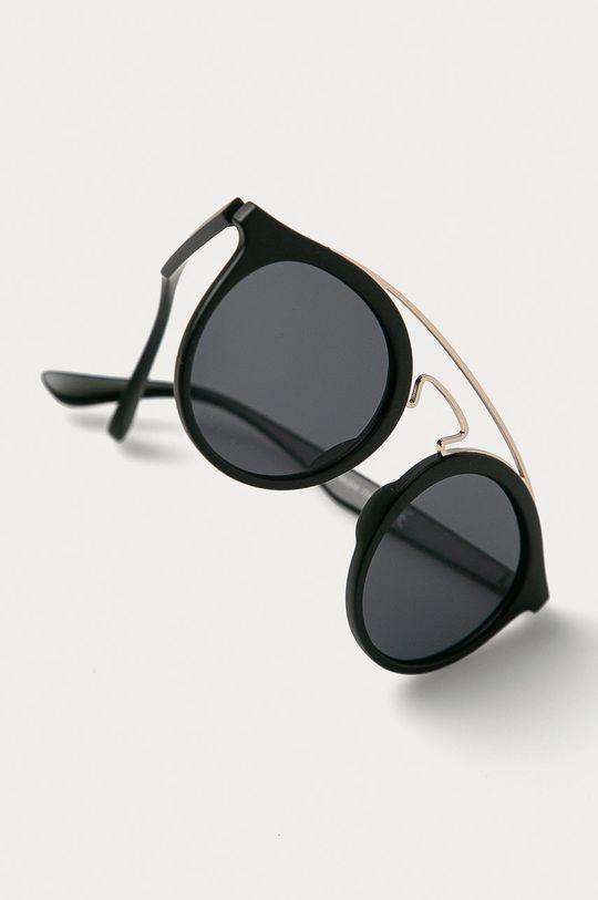 Answear Lab - Sluneční brýle  Umělá hmota, Kov