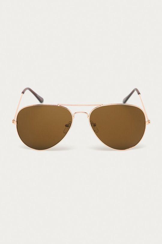 Answear Lab - Slnečné okuliare zlatá