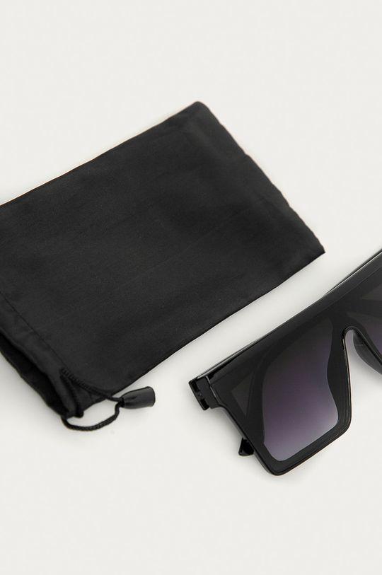 czarny Answear Lab - Okulary przeciwsłoneczne