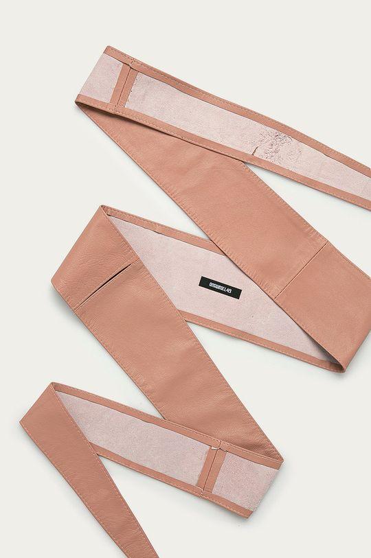 broskvová Answear Lab - Kožený pásek Dámský