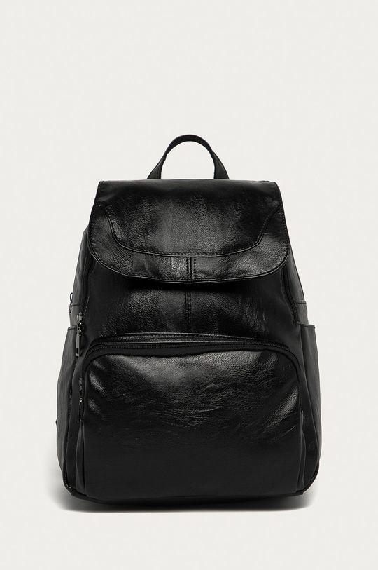 čierna Answear Lab - Ruksak Dámsky