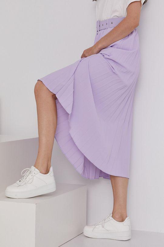 lawendowy Answear Lab - Spódnica Damski