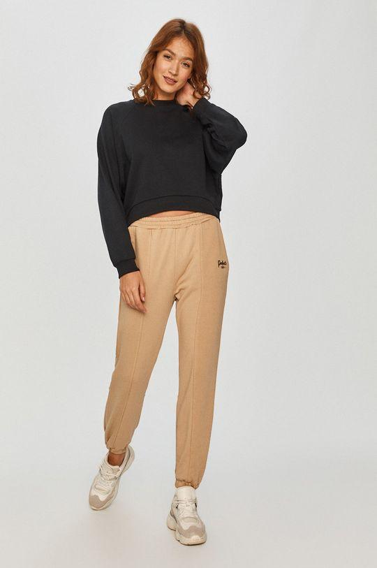 Answear Lab - Kalhoty béžová