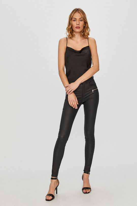 Answear Lab - Nohavice čierna