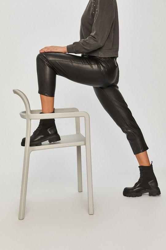 černá Answear Lab - Kalhoty