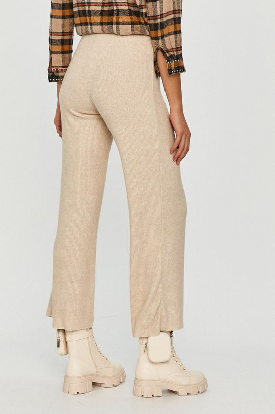Answear Lab - Pantaloni  80% Bumbac, 5% Elastan, 15% Poliester