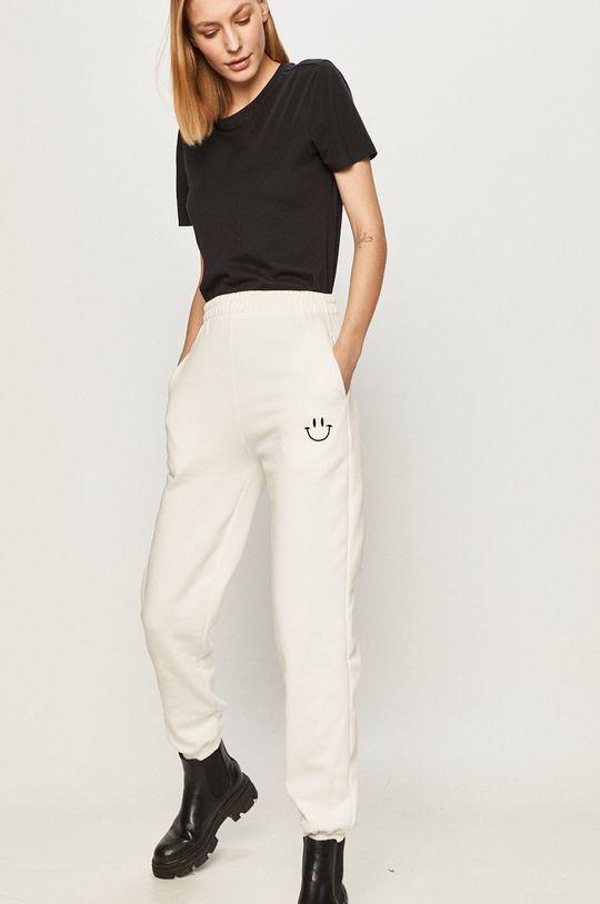 Answear Lab - Kalhoty bílá