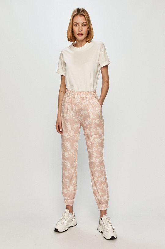 Answear Lab - Kalhoty růžová