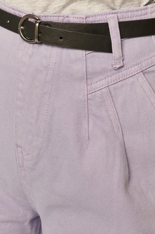 levandulová Answear Lab - Kalhoty