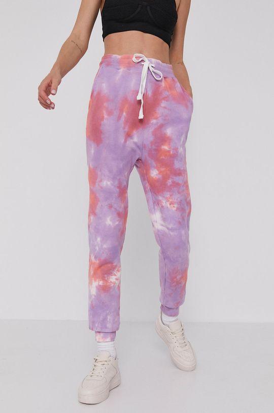 Answear Lab - Spodnie fioletowy