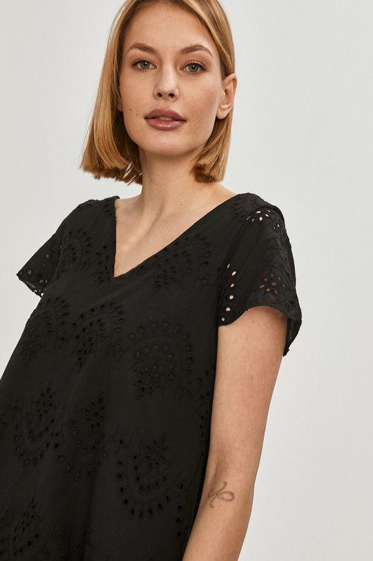 černá Answear Lab - Šaty