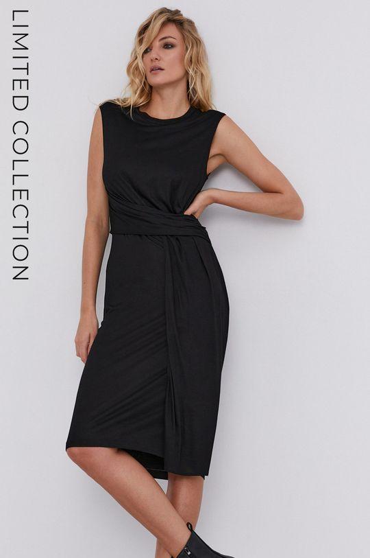 чорний Плаття answear.LAB X лімітована колекція GIRL POWER Жіночий
