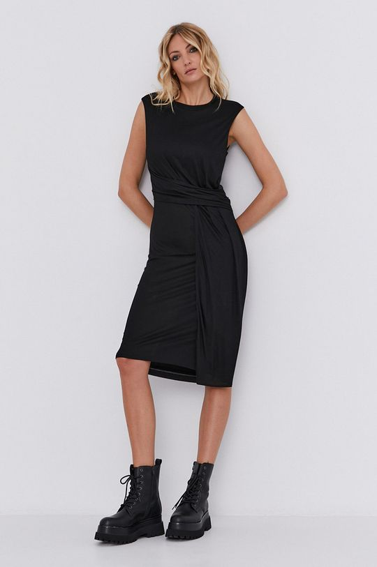 Плаття answear.LAB X лімітована колекція GIRL POWER чорний