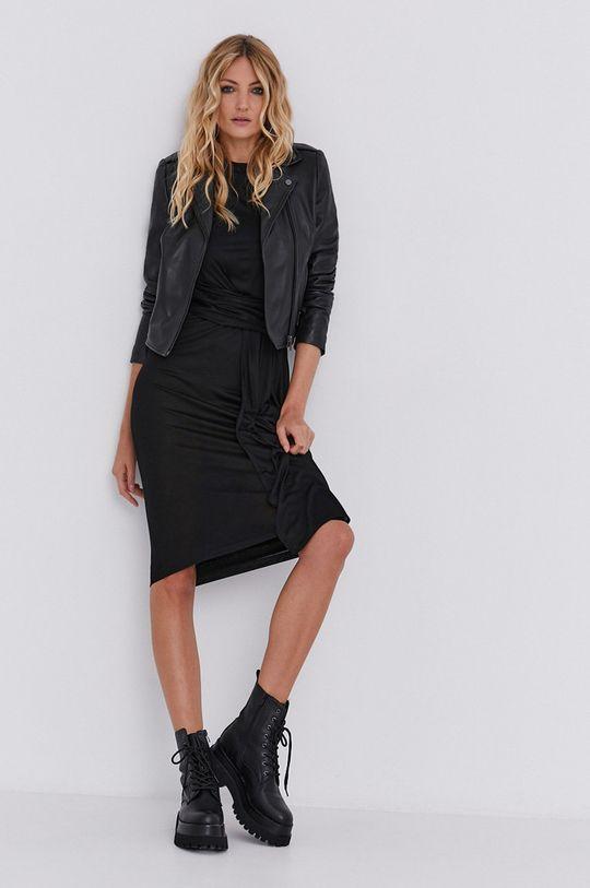 чорний Плаття answear.LAB X лімітована колекція GIRL POWER