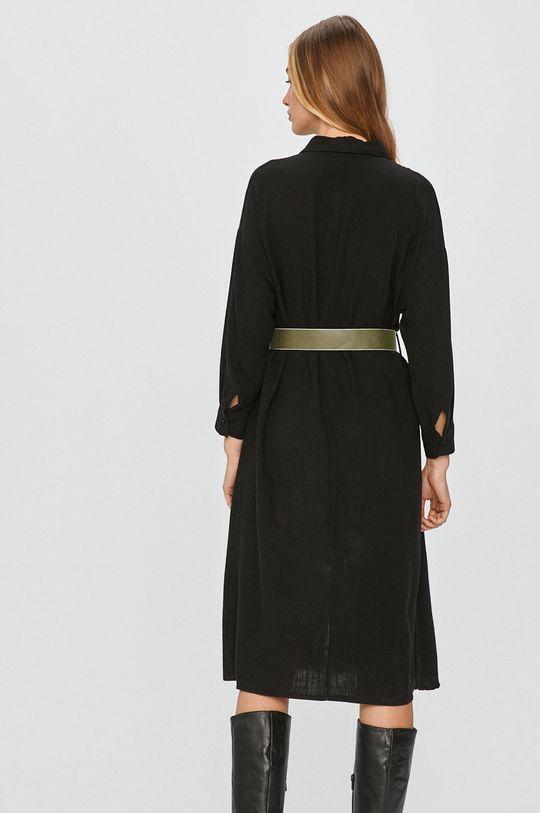 Answear Lab - Šaty  50% Viskóza, 50% Jiný materiál