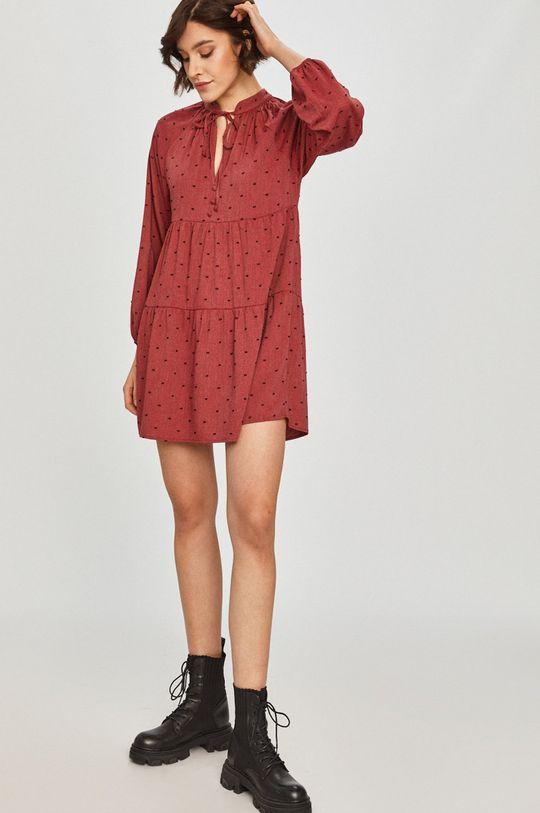 Answear Lab - Sukienka kasztanowy