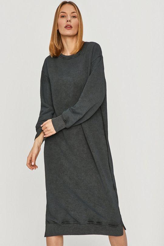 Answear Lab - Šaty šedá