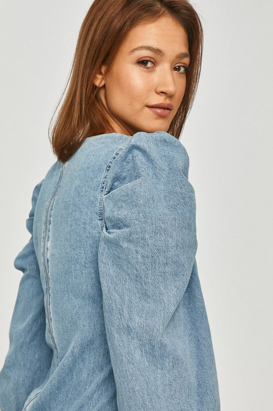 niebieski Answear Lab - Sukienka jeansowa Damski