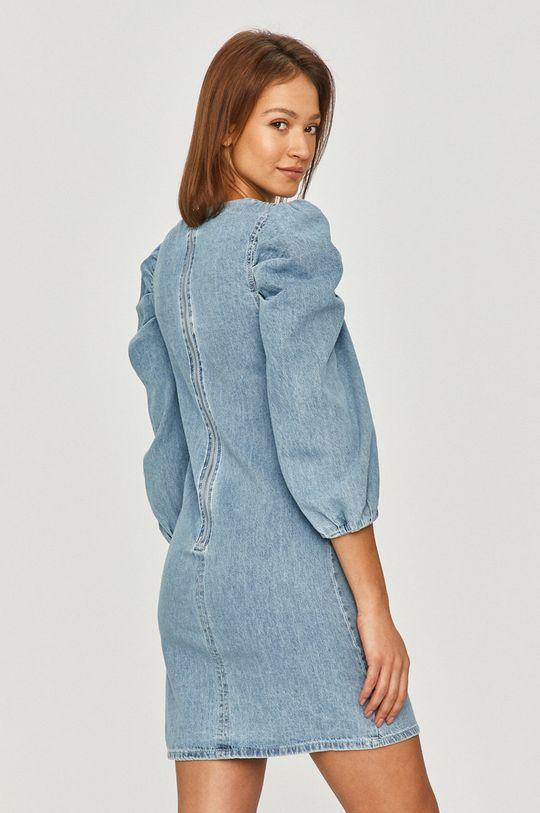 niebieski Answear Lab - Sukienka jeansowa
