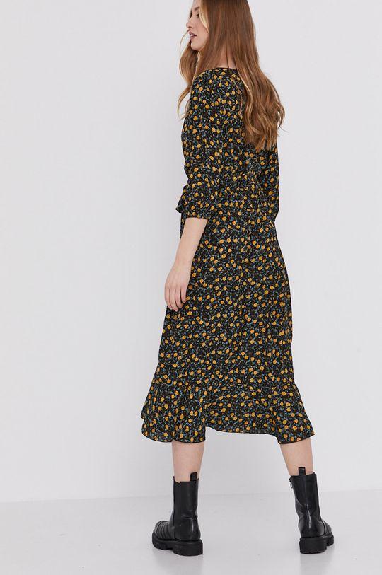 Answear Lab - Sukienka 1 % Elastan, 99 % Poliester