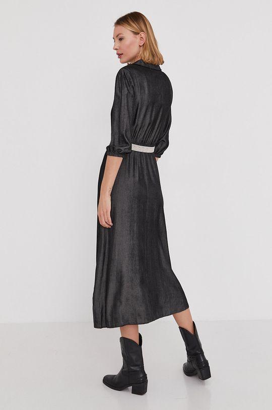 Answear Lab - Sukienka 50 % Poliamid, 50 % Tencel