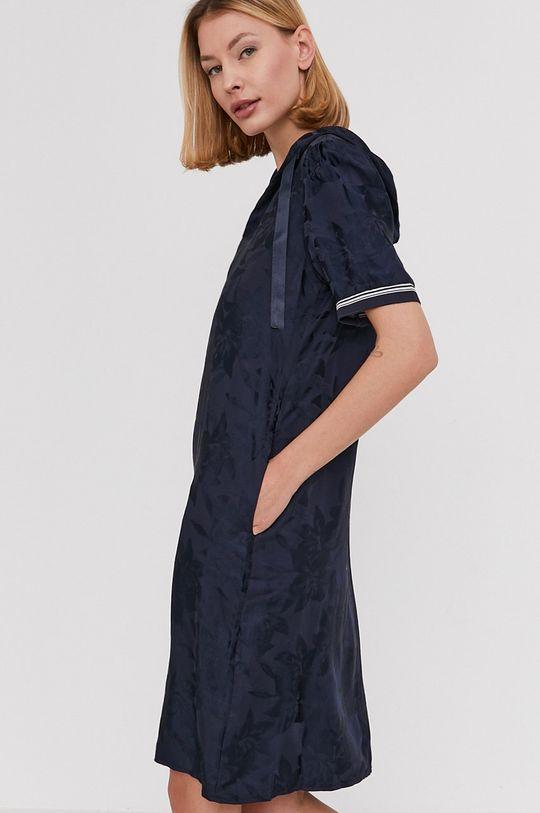granatowy Answear Lab - Sukienka