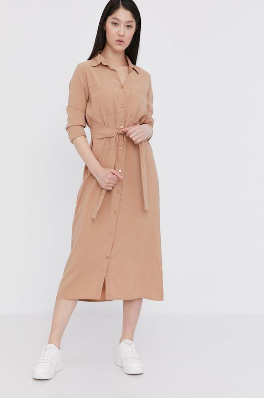 Answear Lab - Sukienka brązowy