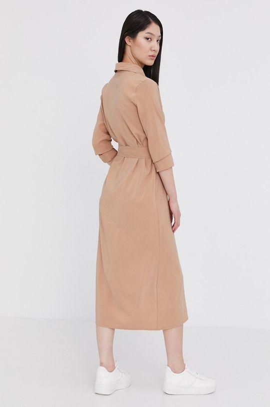 Answear Lab - Sukienka 50 % Poliamid, 50 % Wiskoza