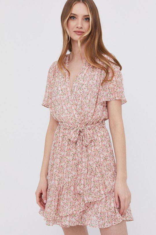 ružová Answear Lab - Šaty