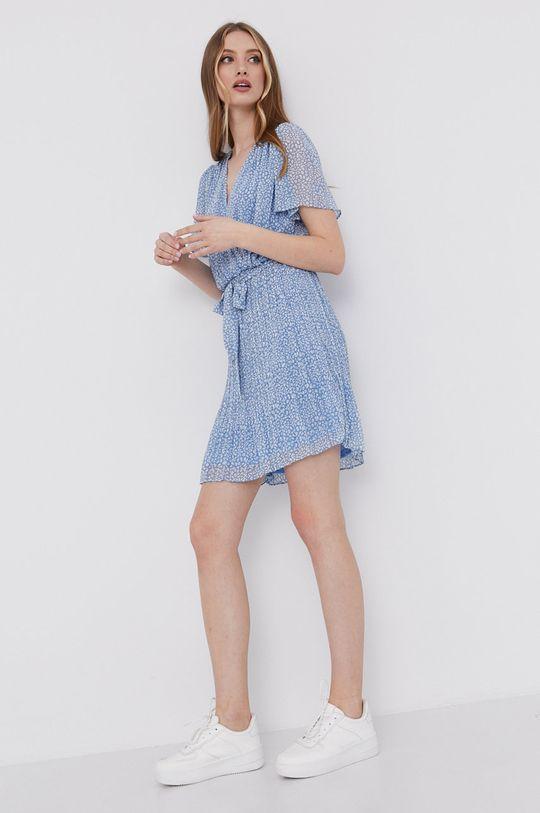 modrá Answear Lab - Šaty
