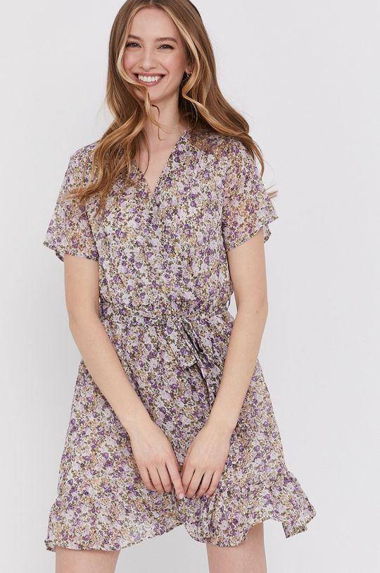levanduľová Answear Lab - Šaty