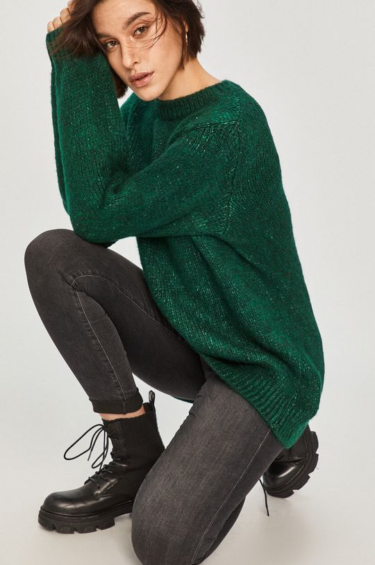 zielony Answear Lab - Sweter Damski