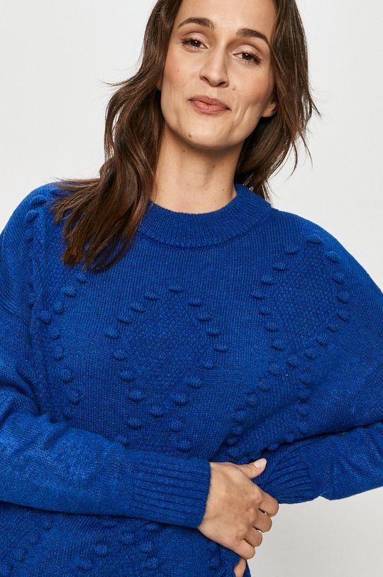 albastru Answear Lab - Pulover