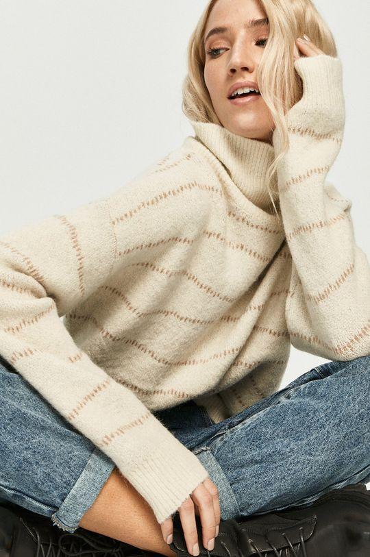 crem Answear Lab - Pulover De femei
