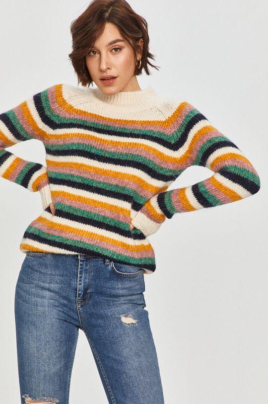 multicolor Answear Lab - Sweter z domieszką wełny Damski
