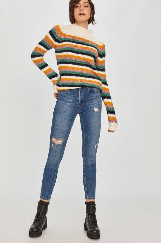 Answear Lab - Sweter z domieszką wełny multicolor