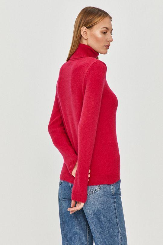 Answear Lab - Sweter z domieszką wełny 90 % Akryl, 10 % Wełna