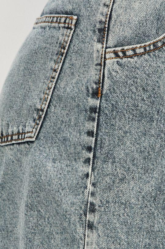 Answear Lab - Rifľové krátke nohavice Dámsky
